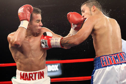 Chris Martin Upsets Chris Avalos Pound4pound Com P4p Number 1